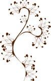 красивейший флористический орнамент Стоковое Фото