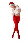 красивейший хелпер s santa Стоковые Фото