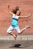 красивейший хмель вальмы девушки танцы Стоковое Изображение RF