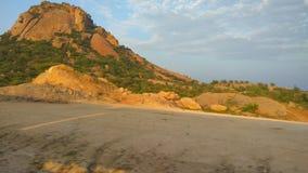 красивейший холм стоковое изображение rf