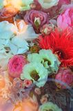 Красивейший цветастый букет венчания стоковые изображения rf