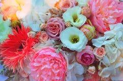 Красивейший цветастый букет венчания стоковое фото rf