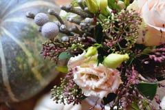 красивейший цветок состава вектор изображения цветка букета яркий Нежность цветка Стоковая Фотография