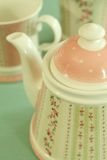 красивейший чай обслуживания орнамента Стоковое Изображение