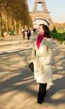 красивейший чемпион de счастливый повреждает гуляя женщину Стоковое Изображение