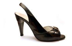 красивейший черный ботинок Стоковые Фотографии RF