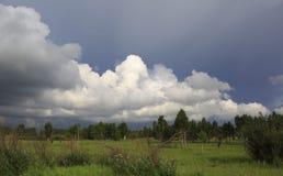 красивейший шторм облаков Стоковая Фотография
