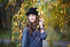 красивейший шлем девушки Стоковое Фото