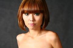 красивейший японец девушки стоковые изображения rf