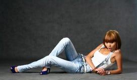 красивейший японец девушки стоковое изображение rf