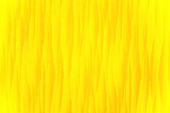 красивейший яркий желтый цвет ткани крупного плана Стоковые Фото