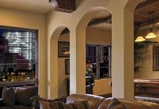 красивейший домашний uptown роскоши просторной квартиры Стоковое Фото