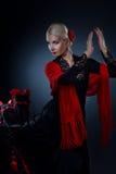 красивейший flamenco танцора Стоковые Фото