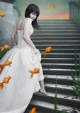 красивейший goldfish девушки