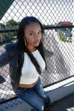 красивейший haitian девушки 7 outdoors Стоковая Фотография RF
