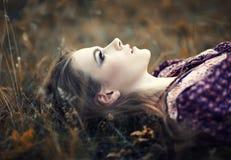 красивейший hippie девушки Стоковые Фотографии RF