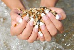 красивейший manicure Франции стоковые фото