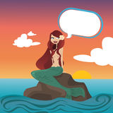 красивейший mermaid Стоковое фото RF