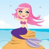 Красивейший Mermaid Стоковые Изображения RF