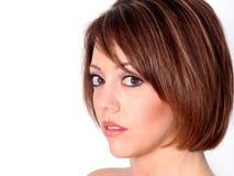 красивейший redhead стороны стоковое изображение