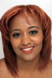 Красивейший Redhead, Headshot Стоковые Фото