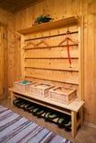красивейший sauna деревянный стоковая фотография rf