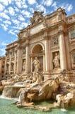 красивейший trevi roma ночи фонтана Стоковая Фотография RF