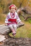 красивейший ukrainian девушки costume Стоковое Изображение RF