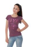 красивейшим детеныши женщины одежд изолированные способом Стоковая Фотография RF
