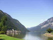 Красивое австрийское озеро Стоковое Изображение