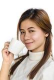 Красивое азиатское предназначенное для подростков Стоковое Фото