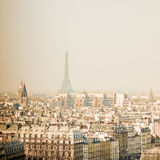 Красивое античное здание города в pari стоковое изображение