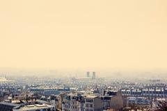 Красивое античное здание города в pari стоковое фото