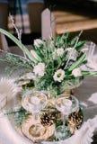 Красивое время свадьбы Стоковые Фото
