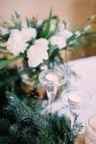 Красивое время свадьбы Стоковые Фотографии RF