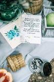 Красивое время свадьбы Стоковая Фотография RF