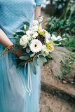 Красивое время свадьбы Стоковое фото RF