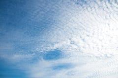 Красивое голубое небо и небо облаков Стоковые Фотографии RF
