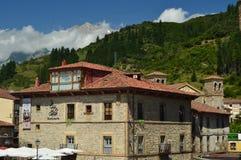 Красивое датировка здания от эпохи средневековья в деревне баков Природа, архитектура, история, перемещение стоковое фото rf