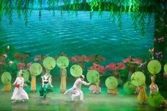 Красивое западное озеро и свои красивые сказы Стоковое Фото