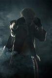 Красивое зверское бой героя Стоковые Изображения RF