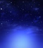 Красивое звёздное небо Стоковое Изображение