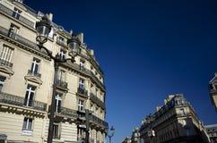 Красивое здание в Париже, Франции Стоковое Изображение RF