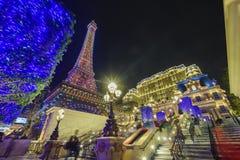 Красивое здание парижского Макао стоковые фото