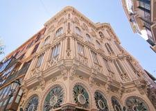 Красивое здание nouveau искусства Corbella чонсервной банкы Стоковые Изображения