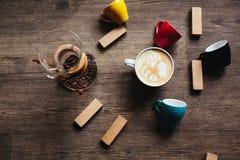 Красивое изображение latte Стоковая Фотография RF