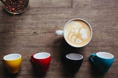 Красивое изображение latte Стоковое Фото