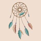 Красивое индийское dreamcatcher Стоковое Фото