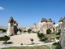 Красивое и загадочное Cappadocia Стоковые Изображения RF