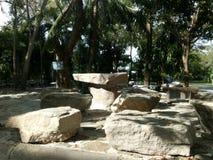 Красивое место с камнем Стоковые Изображения RF